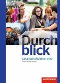 Durchblick Gesellschaftslehre 9 / 10. Schülerband. Niedersachsen