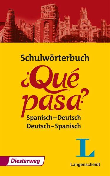 Que Spanisch Deutsch