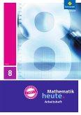 Mathematik heute 8. Arbeitsheft mit Lösungen. Hessen