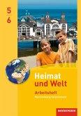 Heimat und Welt 5 / 6. Arbeitsheft. Regelschulen. Mecklenburg-Vorpommern