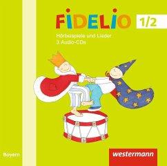1./2. Jahrgangsstufe, Hörbeispiele, 2 Audio-CDs / Fidelio, Ausgabe Bayern 2014