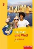 Heimat und Welt 8. Arbeitsheft. Sachsen