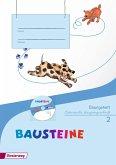 BAUSTEINE Sprachbuch 2 . Übungsheft 2 LA mit CD-ROM