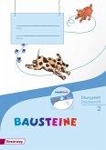 BAUSTEINE Sprachbuch 2. Übungsheft 2 DS mit CD-ROM