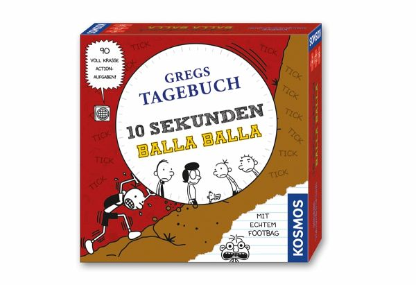 Kosmos 692247 - Gregs Tagebuch: 10 Sekunden Balla Balla