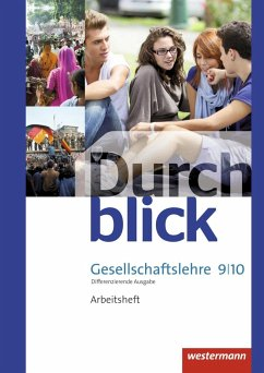 Durchblick Gesellschaftslehre 9 / 10. Arbeitsheft. Niedersachsen