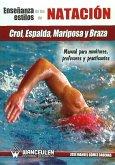 Enseñanza de la natación : crol, espalda, mariposa y braza : manual para monitores, profesores y practicantes