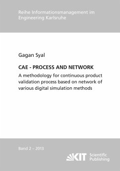 CAE - PROCESS AND NETWORK : A methodology for continuous product validation process based on network of various digital simulation methods