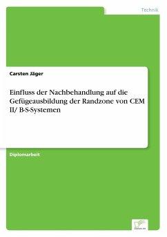 Einfluss der Nachbehandlung auf die Gefügeausbildung der Randzone von CEM II/ B-S-Systemen