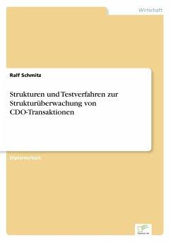 Strukturen und Testverfahren zur Strukturüberwachung von CDO-Transaktionen