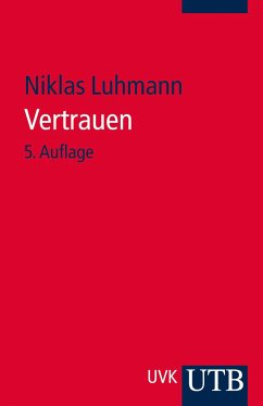 Vertrauen - Luhmann, Niklas