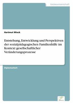 Entstehung, Entwicklung und Perspektiven der sozialpädagogischen Familienhilfe im Kontext gesellschaftlicher Veränderungsprozesse