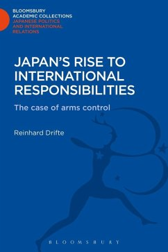 Japan's Rise to International Responsibilities (eBook, PDF) - Drifte, Reinhard