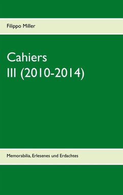 Cahiers III (2010-2014) (eBook, ePUB)