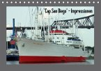 """""""Cap San Diego"""" - Impressionen (Tischkalender immerwährend DIN A5 quer)"""