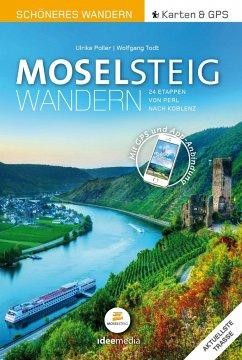 Moselsteig Schöneres Wandern Pocket. GPS, Detai...