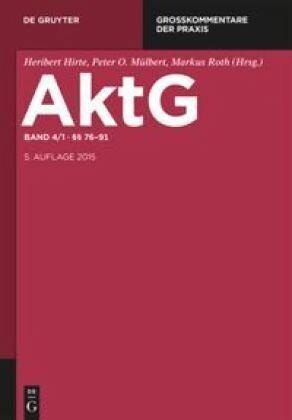 German Stock Corporation Act (Aktiengesetz)