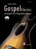 Gospel Classics, für Gitarre, m. Audio-CD