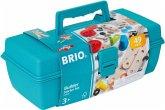 BRIO 34586 - Builder Box, Werkzeugkoffer 48-teilig
