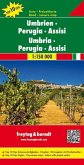 Freytag & Berndt Auto + Freizeitkarte Umbrien, Perugia, Assisi; Freytag & Berndt Road Map Umbria, Perugia, Assisi