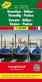 Freytag & Berndt Autokarte Venetien, Udine, Venedig, Padua; Veneto, Udine, Venice, Padua
