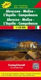 Freytag & Berndt Autokarte Abruzzen, Molise, L'Aquila, Campobasso; Abrozzo, Molise, L'Aquila, Campobasso