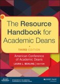 The Resource Handbook for Academic Deans (eBook, PDF)