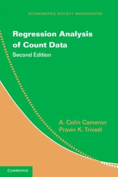 Regression Analysis of Count Data (eBook, PDF) - Cameron, A. Colin