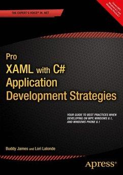 Pro XAML with C# - James, Buddy;Lalonde, Lori