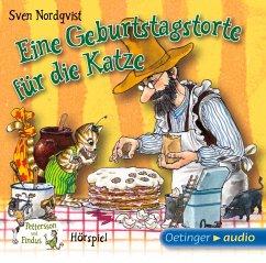 Eine Geburtstagstorte für die Katze / Pettersson & Findus Bd.1 (1 Audio-CD) - Nordqvist, Sven