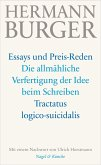 Die allmähliche Verfertigung der Idee beim Schreiben. Tractatus logico-suicidalis (eBook, ePUB)