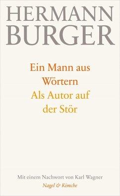 Ein Mann aus Wörtern. Als Autor auf der Stör (eBook, ePUB) - Burger, Hermann