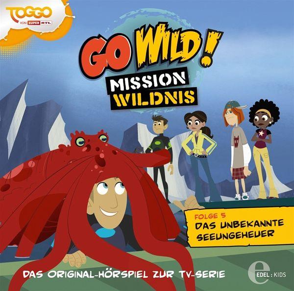 go wild mission wildnis seeungeheuer 1 audio cd. Black Bedroom Furniture Sets. Home Design Ideas