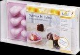 Pralinen- und Schokoladenförmchen Herz