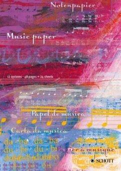 Notenpapier / Music Paper