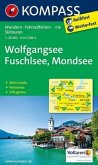 KOMPASS Wanderkarte Wolfgangsee, Fuschlsee, Mondsee