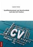 Qualifikationsstand und Berufsverbleib nach dem DaF-Studium (eBook, PDF)