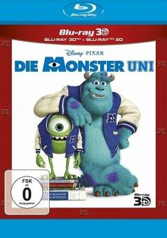 Die Monster Uni - 2 Disc Bluray
