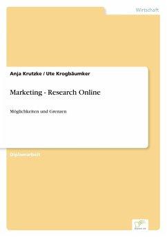 9783838652122 - Krutzke, Anja Krogbäumker, Ute: Marketing - Research Online - كتاب