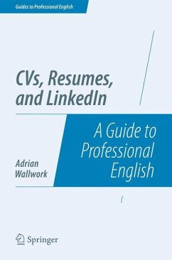 CVs, Resumes, and LinkedIn - Wallwork, Adrian