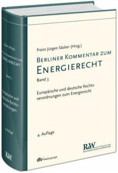 Berliner Kommentar zum Energierecht, Band 3