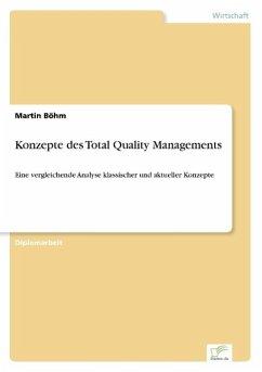 Konzepte des Total Quality Managements