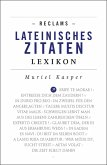 Reclams Lateinisches Zitaten-Lexikon (eBook, ePUB)