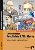 Stationenlernen Geschichte 9/10. Klasse - Band 1 (eBook, PDF)