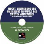 Flucht, Vertreibung und Umsiedlung im Umfeld des Zweiten Weltkrieges, Lehrermaterial, CD-ROM