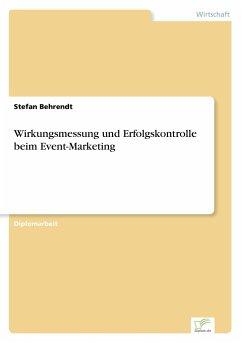 Wirkungsmessung und Erfolgskontrolle beim Event-Marketing - Behrendt, Stefan