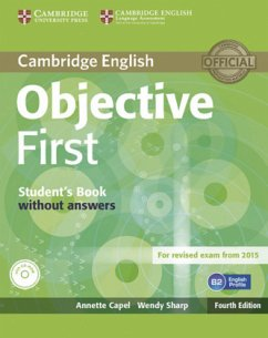 Student's book without answers and CD-ROM / Objective First, Fourth edition