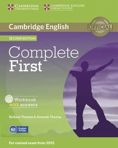 Complete First - Second Edition. Workbook with answers with Audio CD - Thomas, Amanda; Thomas, Barbara