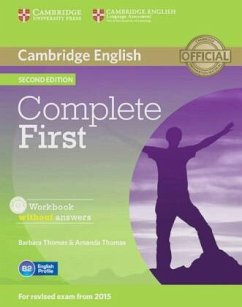 Complete First - Second Edition. Workbook without answers with Audio CD - Thomas, Amanda; Thomas, Barbara