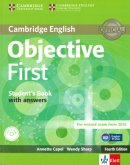 Objective First Klett edition. Student's book with answers and CD-ROM